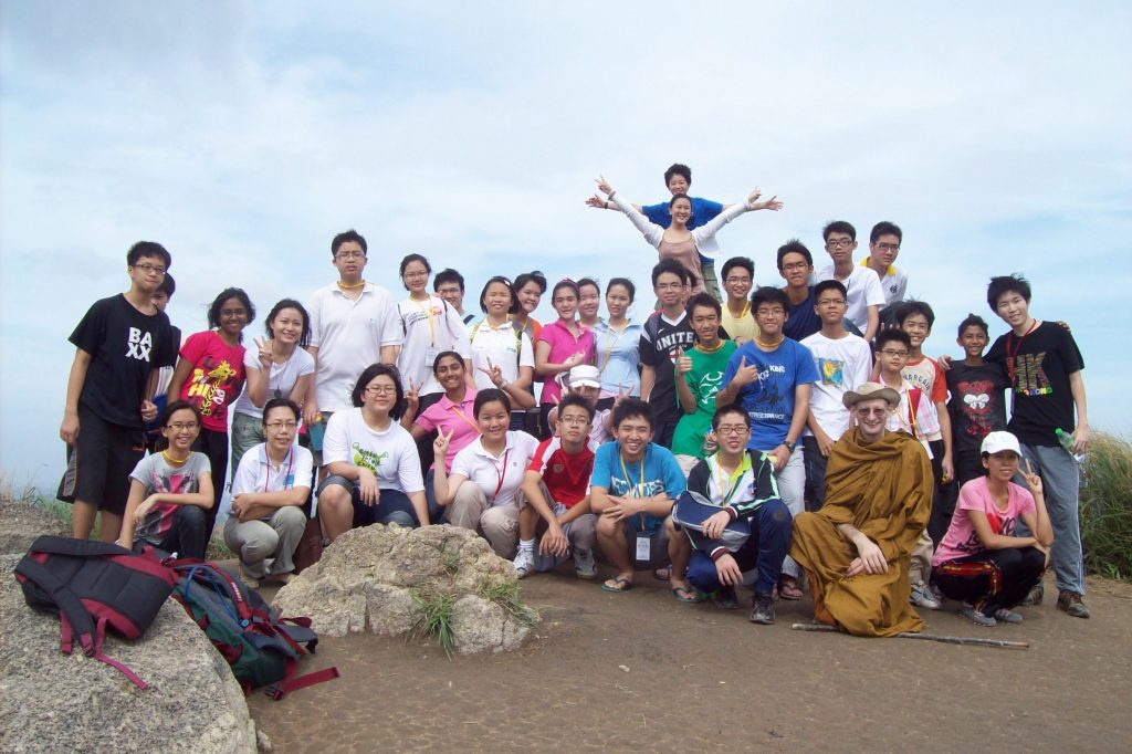 young people retreat